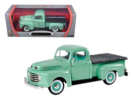 1948 Ford F1 Pickup Truck Green 1/18 Diecast Model Car by Road Signature - $62.49