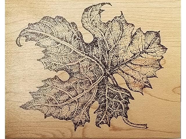 Rubber Monger 1996 Maple Leaf Rubber Stamp