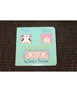 MOO BAA LA LA LA BY SANDRA BOYNTON BABY CHILD SMALL BORDER BOOK - $1.50