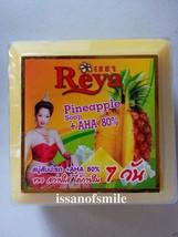 6 x 170g. Thai Natural Pineapple + AHA 80% Soap Skin Lightening Anti Wri... - $44.00