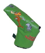 Bullwinkle and Friends  Putter Cover Blade Magnetic Closer - $13.98