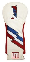 Loudmouth Winning Edge Retro Style 1 Captain USA driver Cover  White - $20.53
