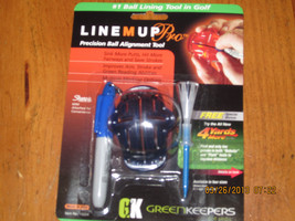 Izzo Line Up Pro Ball Lining Tool with Sharpie and Free 4 Yards for Golf... - $9.46