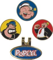 Popeye And Friends Magnetic Ball Markers and Hat Clip - $13.98