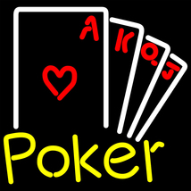 Poker Ace Series Neon Sign - $799.00