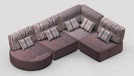 Kristin 4 Sectional Sofa Modular Contemporary Modern Lifetime Warranty Spain