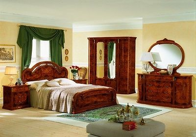 Milady Bedroom Set Classic Traditional Style Made in Italy