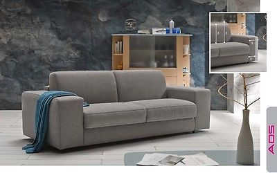 Augusto Sofa Sleeper Bed Power Living Room Modern Contemporary Made in Spain