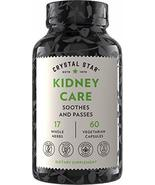 Crystal Star Kidney Care (60 Capsules) – Herbal Supplement for Kidney Cleanse, D - $20.33
