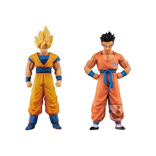 Dragon Ball Z Chozousyu Figure Series Vol.5 Set of 2 Son Goku (Super Saiyan) ...