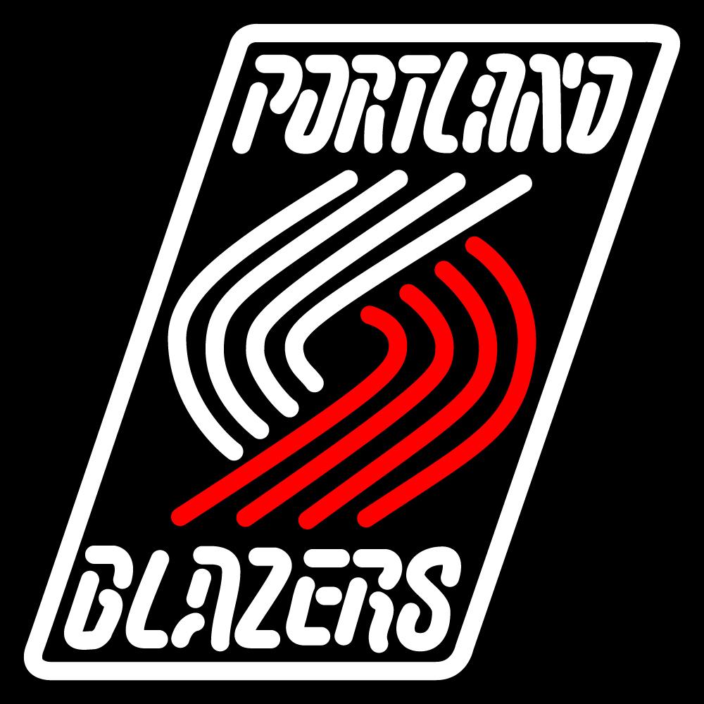 Portland Trail Blazers Espn Nba: NBA Portland Trail Blazers Neon Sign
