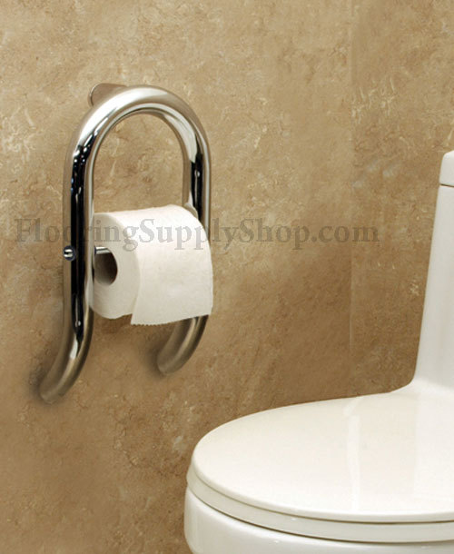 Invisia toilet paper holder