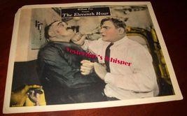 Very RARE Buck Jones The Eleventh Hour 1923 Original LC - $129.99