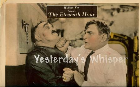 Very RARE Buck Jones The Eleventh Hour 1923 Original LC