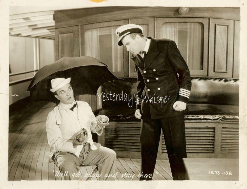 Victor Moore 1930's Comedy Original Movie Photo