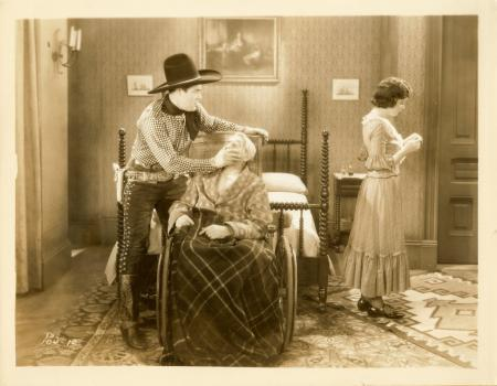 Vintage Ken Maynard Lloyd Ingraham Movie Still Photo