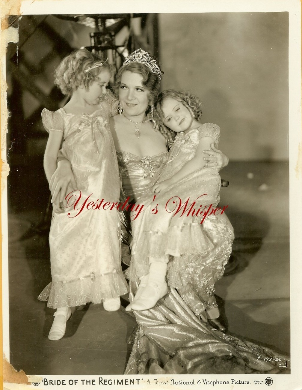Vivienne Segal 2 Children BRIDE OF THE REGIMENT Original c.1930 Movie Photo