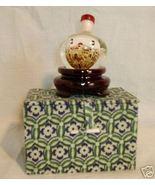 Chanukah Hanukkah holiday mini Dreidel stand gl... - $24.77
