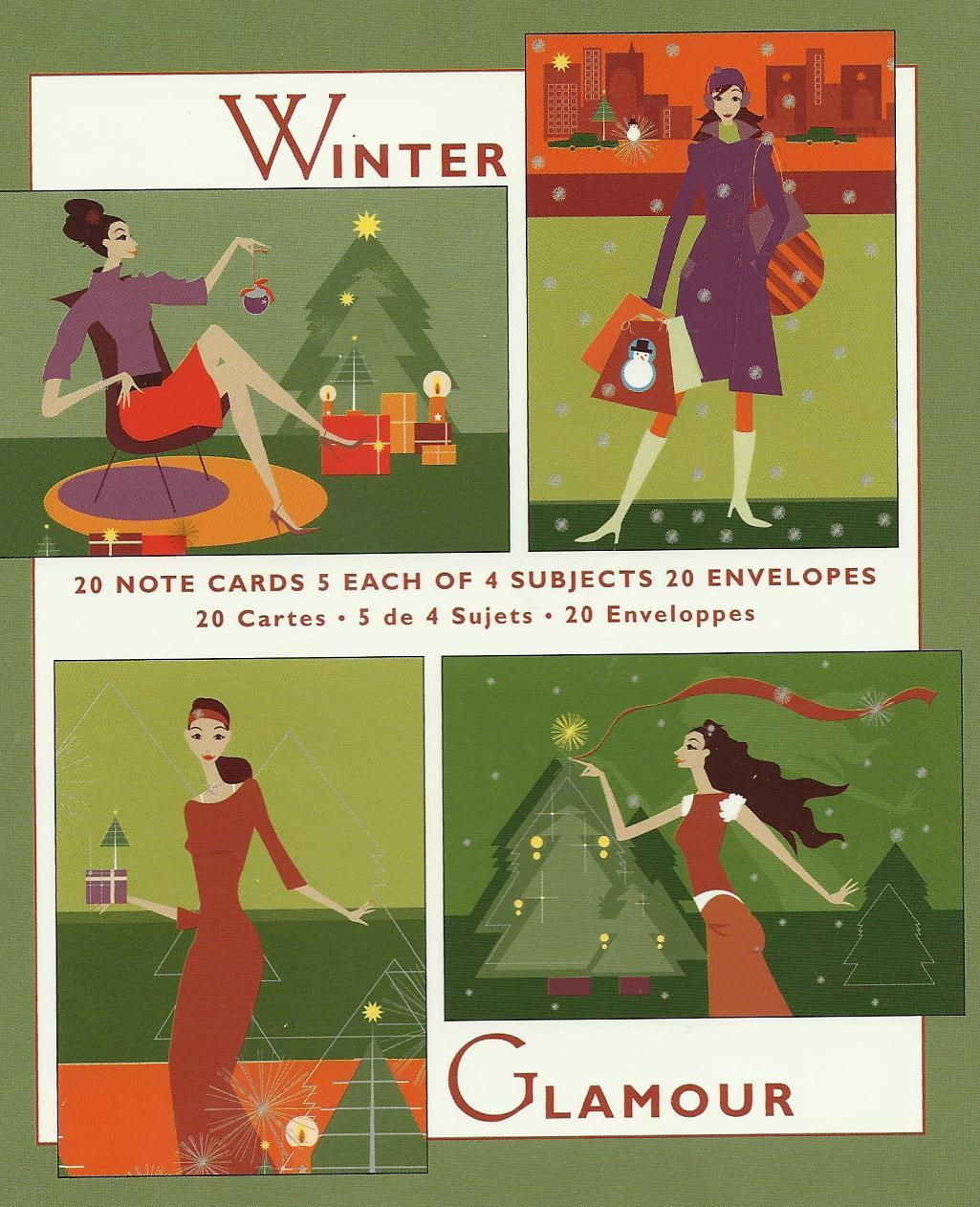 Marcel schurman winter glamour card