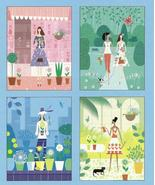 Marcel Schurman All Occasion  20 blank greeting note cards Springtime Di... - $15.77