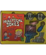 Practical Jokes Tricks whoopee cushion book magic gag gift  metal box H5 - $17.77