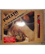 Potato Pack Gift Set Cookbook 2000 peeler cook potatoes spicy dishes rec... - $19.77