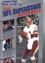 NFL Super Stars Silhouette Mark Rypien quarterback Wa.Redskins football ... - $9.77