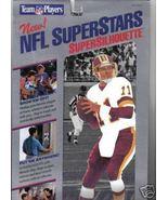 NFL Super Stars Silhouette Mark Rypien quarterb... - $9.77