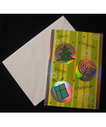 Papyrus Chanukah Christmas Greeting Cards 14 stripe Menorah star gift  t... - $11.77