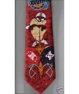 SURREY Super Bowl XXVIII 28 Necktie football game red novelty Taz Neck Tie - $19.77