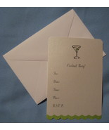 Marcel Schurman Cocktail Party set 8 all occasion Invitation note cards  D - $11.77