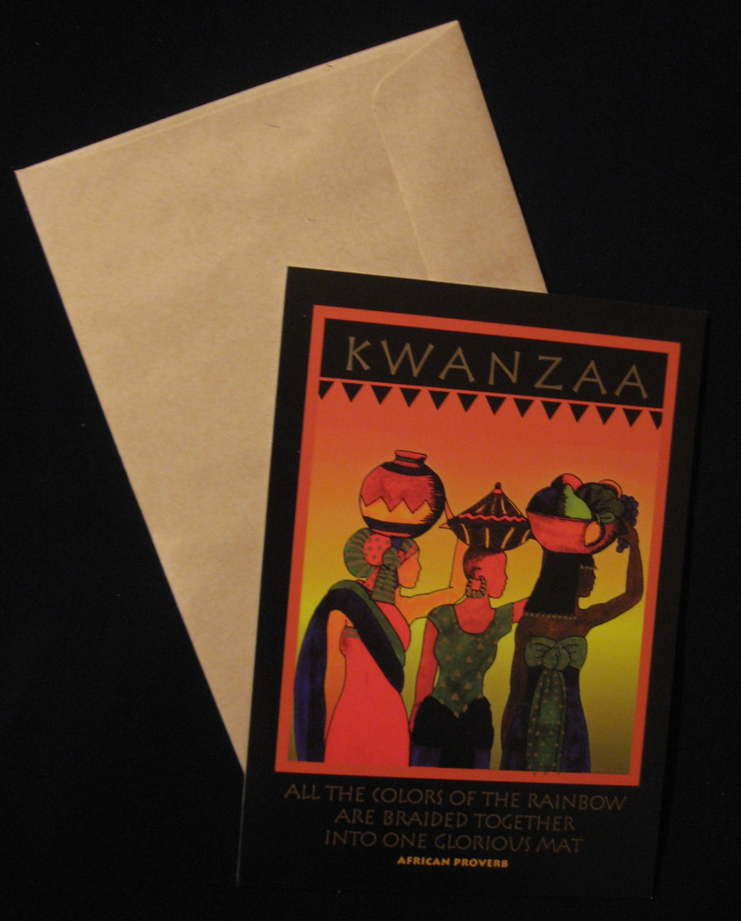 Kwanzaa ladies card a
