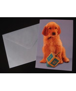 Papyrus Happy Chanukah 12 Holiday greeting note Cards pet puppy dog Drei... - $9.77