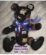 Black Bear handcrafted USA fabric Handbags Purses one of a kind handmade... - $77.77