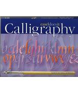 Calligraphy 2004 Nancy Ouchida Howells beginner letter art handwriting a... - $16.77