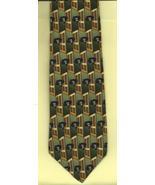 Gilda's Club Necktie green brown Cancer Radnor charity neck tie business... - $17.77