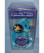 Tim McGraw 1999 blue Teddy Bear doll collector Limited Edition country s... - $77.77