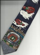 Tabasco Pepper Sauce Neck Tie New York skyline World Trade Center logo N1 - $37.77