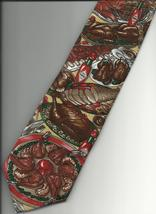Tabasco Pepper Sauce Necktie Thanksgiving Dinner feast logo novelty neck... - $24.77