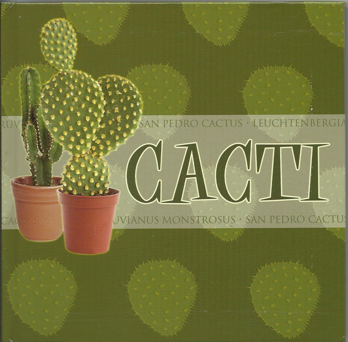 Cacti  2004 Susan Stephenson Cactus beginner growing Kit book trowel  pot H4