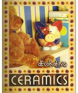 Decorating Ceramics Kit 2005 Kelly Smith book paint brush beginner craft H4 - $19.77