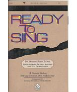 Ready to Sing 2004 Russell Mauldin Steve thematic sheet music book CD choir - $19.77