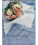Bridal Handkerchief Gift Set 2000 Beverly Clark linen lace hankie Weddin... - $19.77