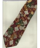 Tabasco Pepper Sauce Neck Tie Vegetable Shrimp necktie logo novelty seaf... - $24.77