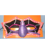Spider Witch Butterfly Face Mask teen child sequins Halloween bling cost... - $12.77