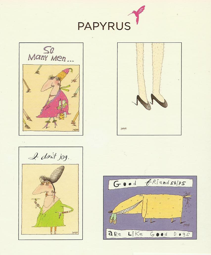 Papyrus so she said greeting card