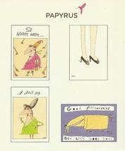 Papyrus All Occasion Cards 20 So She Said gossip funny  humor note 4 des... - $14.77