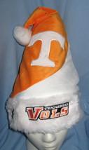 University Tennessee Vols school logo Christmas Hat orange white velvet ... - $12.77