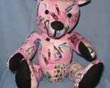 Pink handmade bear thumb155 crop