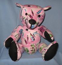 Pink handmade bear thumb200